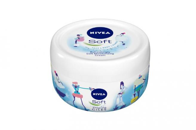 NIVEA Soft moisturising cream range