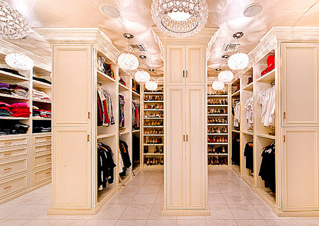 5 most impressive celebrity walk-in wardrobes