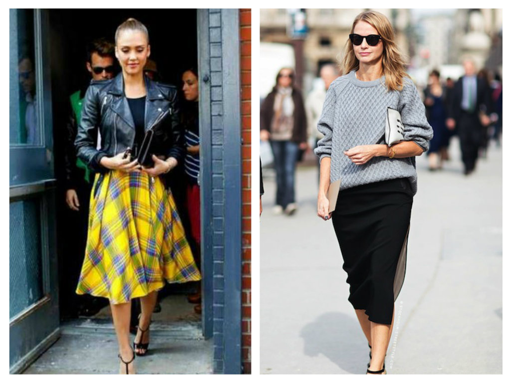 how to wear midi skirt | SHEmazing!