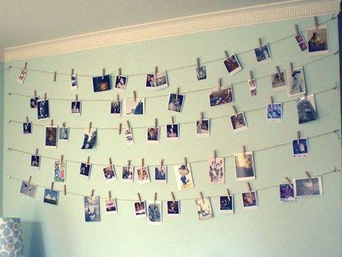 Hanging Pictures From Wire hanging pictures on wire - home design