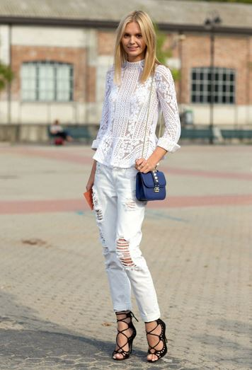 Clean and crisp: how to wear white jeans! | SHEmazing!
