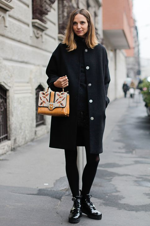 how to wear black coat | SHEmazing!