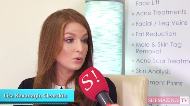 Lisa at ClearSkin