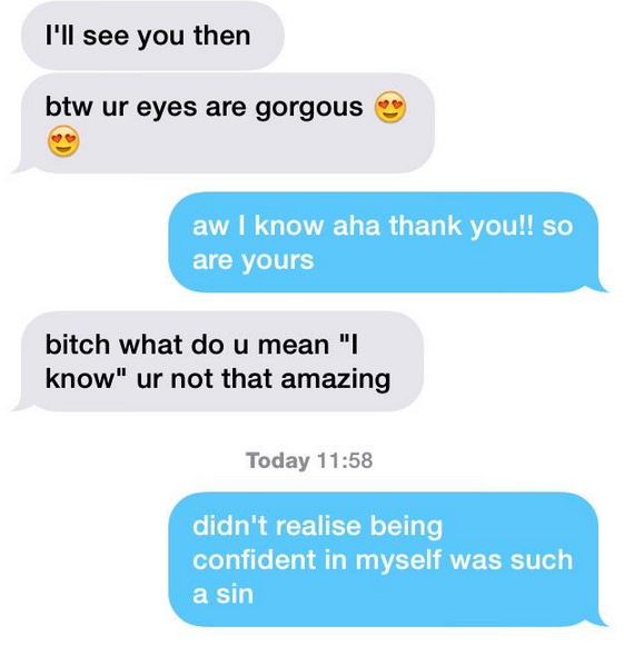 Cheesy compliments to give a girl