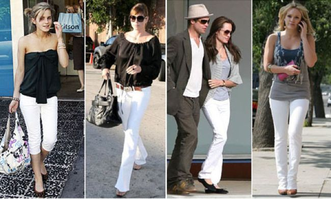 White jeans | SHEmazing!
