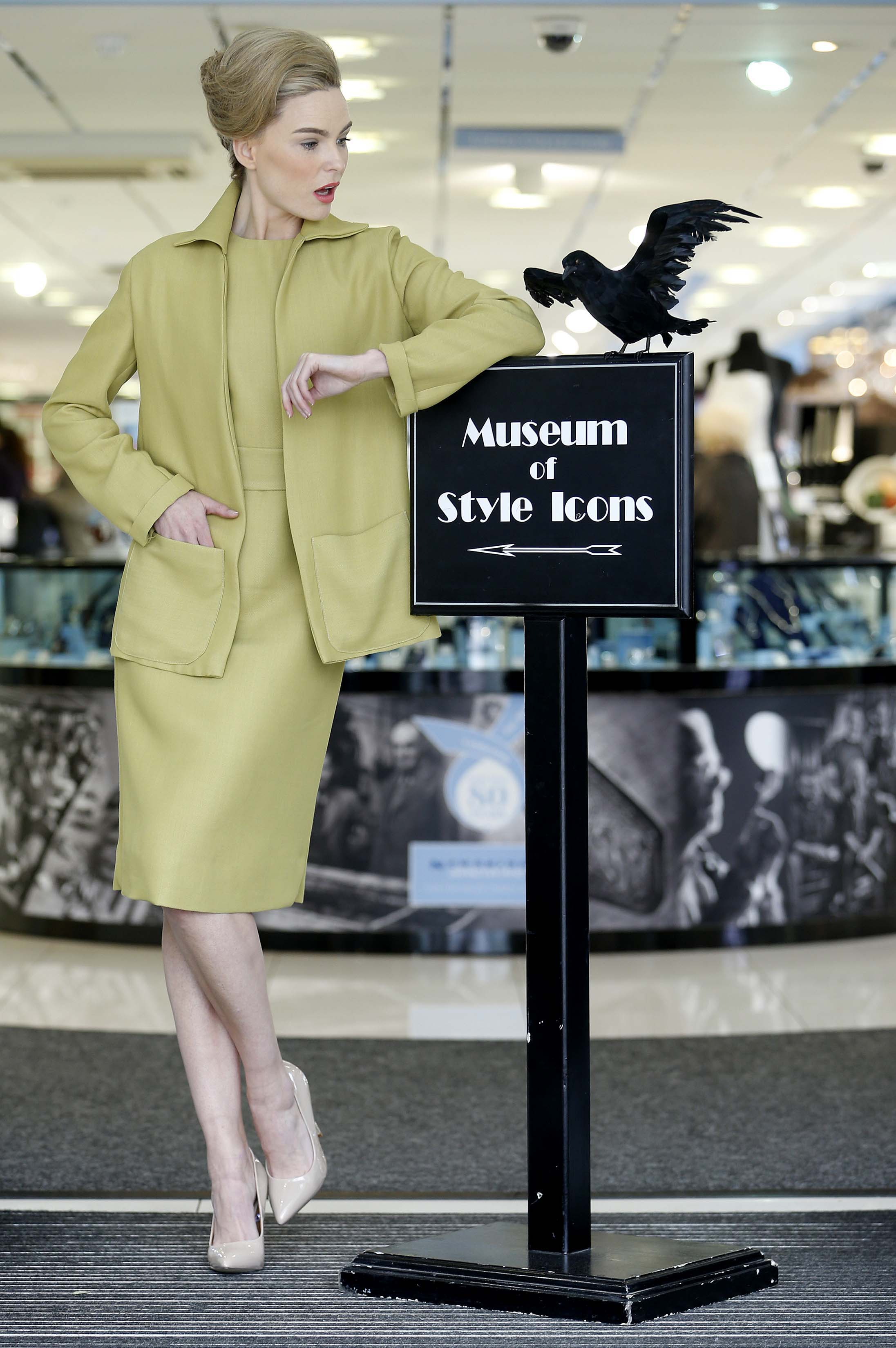 Tippi Hedren S Iconic Green Suit From The Birds Has Landed