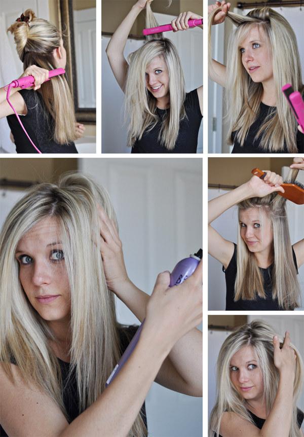 Объемные волосы в домашних условиях фото