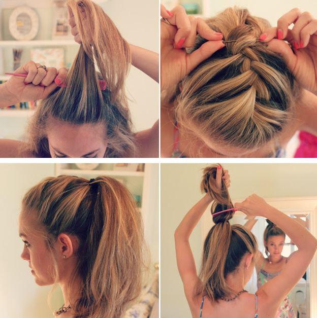 Miraculous Hair Tutorials Shemazing Short Hairstyles Gunalazisus