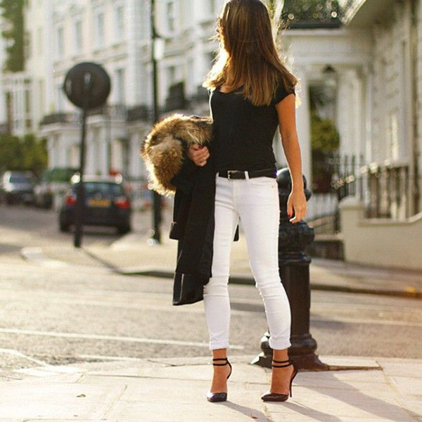 FINALLY! How to keep your lovely white jeans FREE from stains ...