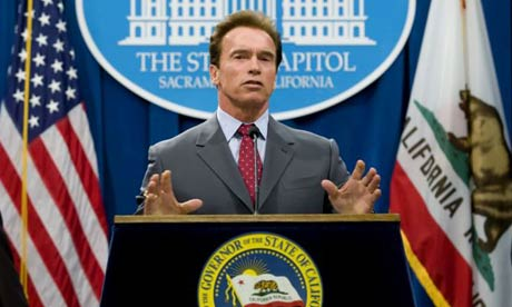 California Governor Arnold Schwarzenegger has embraced the need for investment in water, expediting regional flood protection and supporting moves towards greater use of desalination, saying 'we need it; it's not a choice'.