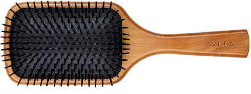 Three Women With Long Bone Straight Hair A Paddle Brush