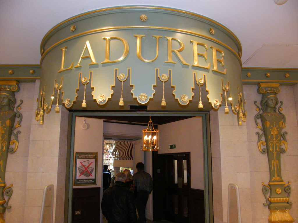 Laduree Tea Room Dublin