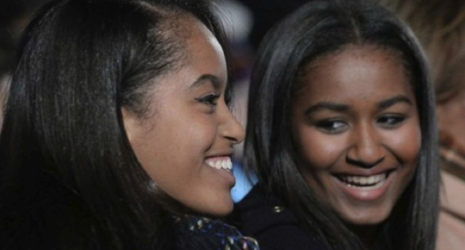 Sasha Obama Looked Stunning In Red At Her Sweet 16 Party
