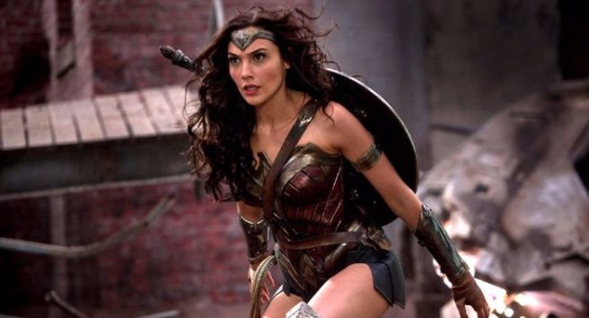 Wonder Woman is the fourth-highest grossing action heroine