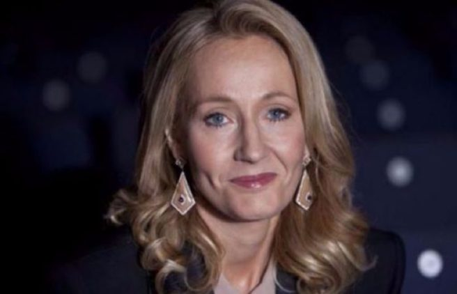 JK Rowling printed her unpublished manuscript on a party dress