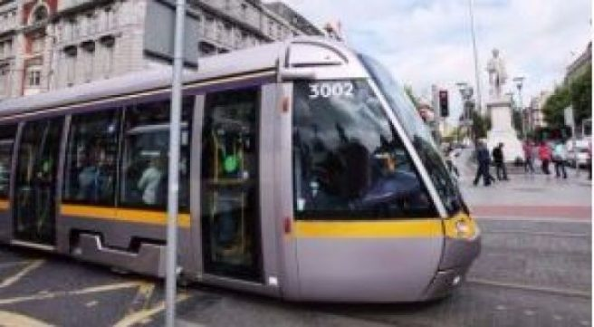 Luas campaign over cyclists breaking red lights