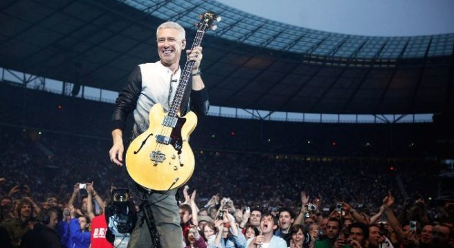 Achtung baby! Adam Clayton announces birth of baby girl