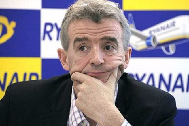 Stop whinging about seats - O'Leary