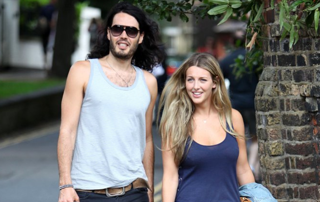 Russell Brand has turned 'domestic' after tying the knot with Laura Gallacher
