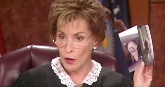 Judge Judy lets dog choose its rightful owner in emotional reunion