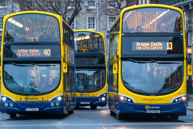 Dublin city traffic restrictions see bus journey times fall 40 per cent