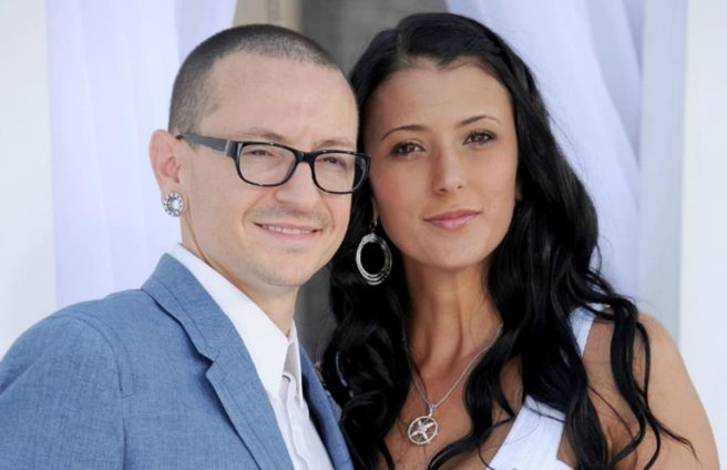Chester Bennington's wife shares heartbreaking family photo taken days before his death
