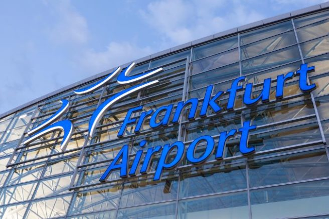 'Teargas' incident at Frankfurt airport