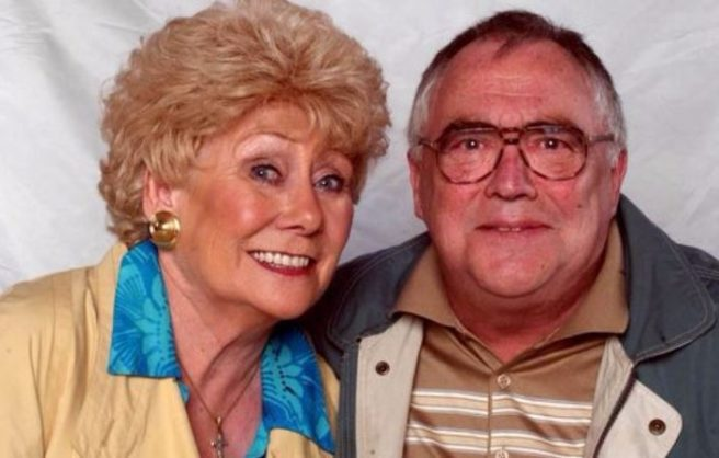 Liz Dawn (1939 - 2017), starred on British soap opera