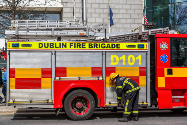 Gardaí Treating Dublin Fire As Suspicious