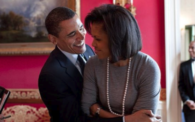 Michelle Obama's heart-melting tribute to Barack on 25th wedding anniversary
