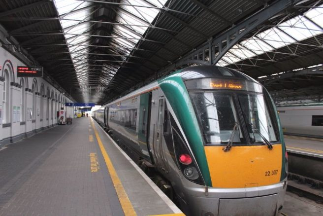 No trains running today as Irish Rail workers strike