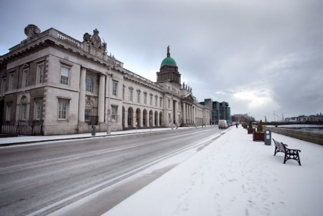 Cold few days ahead as 'polar low' approaches