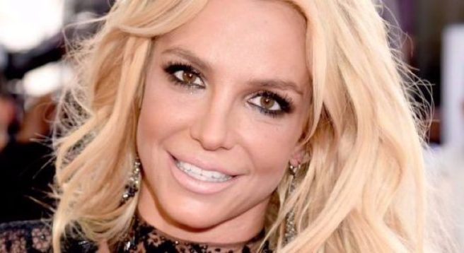 Britney Spears Kicks Off Birthday With Boyfriend in Platform Pumps